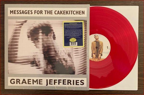 Jefferies, Graeme: Messages For The Cakekitchen LP (Ltd Ed Red Vinyl)