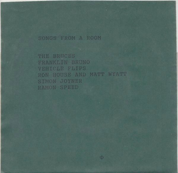 """V/A: Songs From A Room Compilation 7"""""""