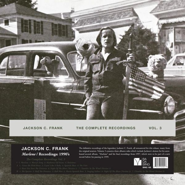 FRANK, JACKSON C.: THE COMPLETE RECORDINGS Volume 3 (2LP)