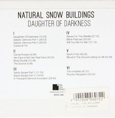 NATURAL SNOW BUILDINGS: Daughter Of Darkness 6CD SALE VERSION