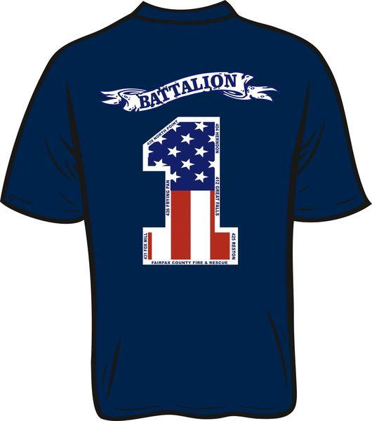 Battalion 1 T-Shirt