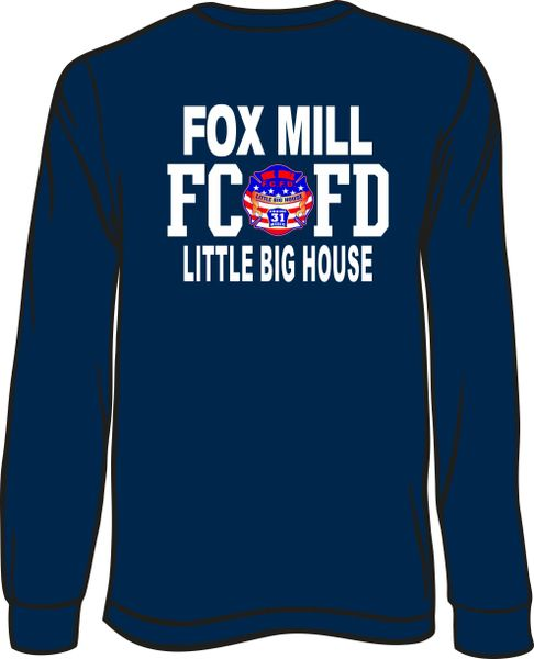 FS431 Fox Mill Patch Long-Sleeve T-Shirt