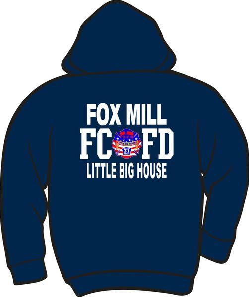 FS431 Fox Mill Patch Zipper Hoodie