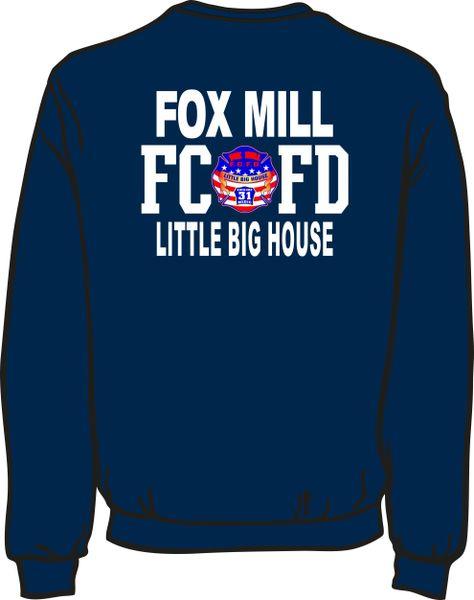FS431 Fox Mill Patch Sweatshirt