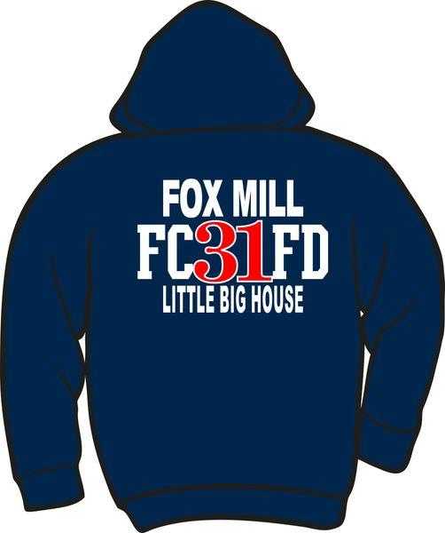 FS431 Fox Mill 31 Zipper Hoodie