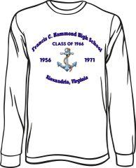 Hammond High School Long-Sleeve T-Shirt