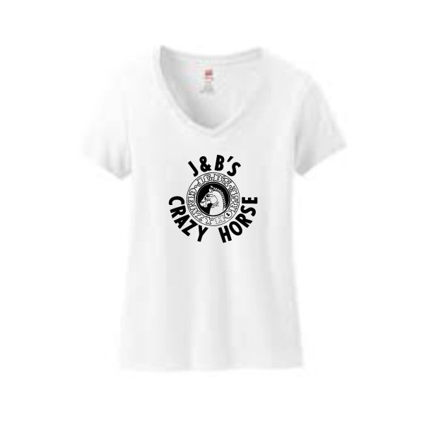 Crazy Horse V-neck T-Shirt