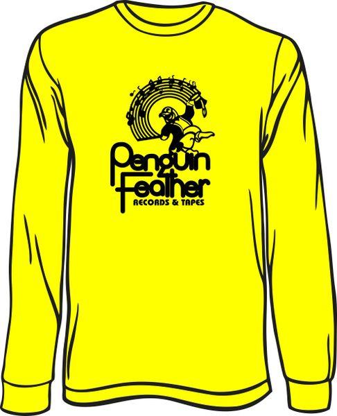 Penguin Feather Long-Sleeve T-Shirt