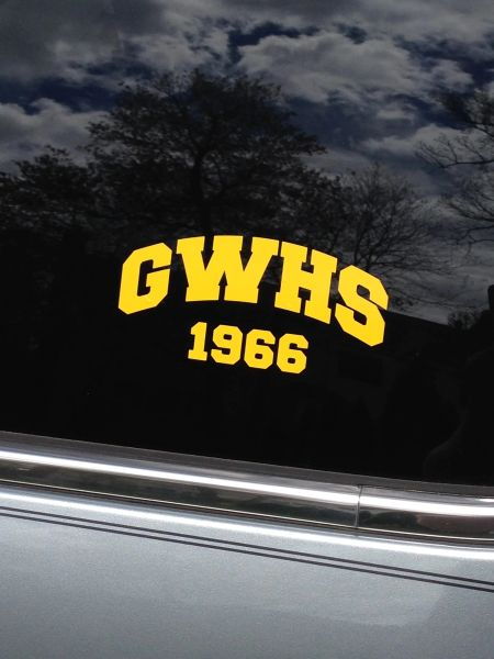 GWHS Window Sticker (any year)