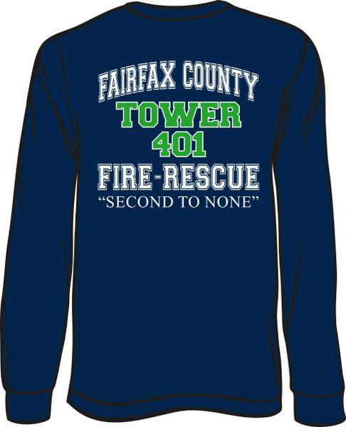 FS401 Tower Long-Sleeve T-Shirt