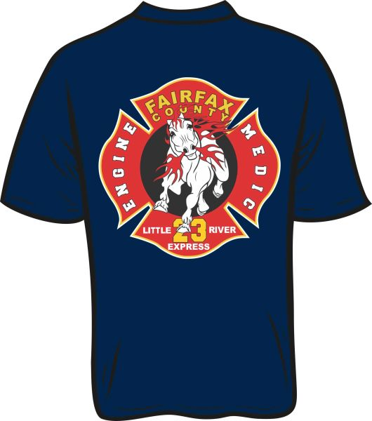 A FS423 Station Shirt T-shirt