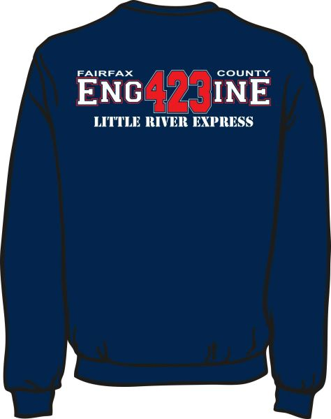 FS423 Little River Engine Heavyweight Sweatshirt