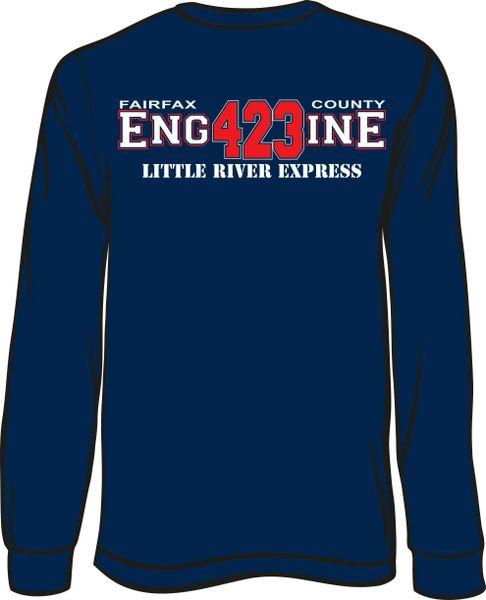 FS423 Little River Engine Long-Sleeve T-shirt