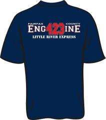 FS423 Little River Engine T-shirt