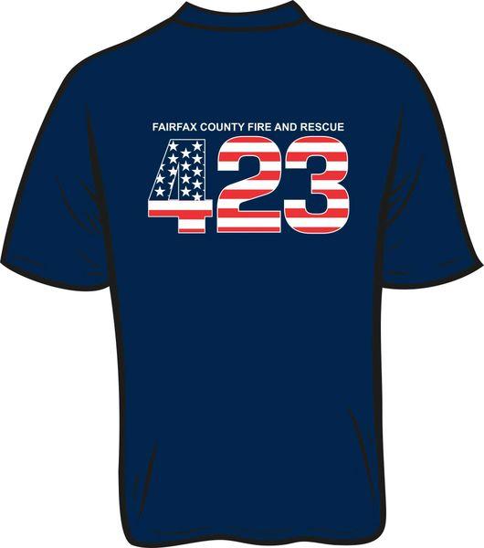 FS423 Flag T-shirt