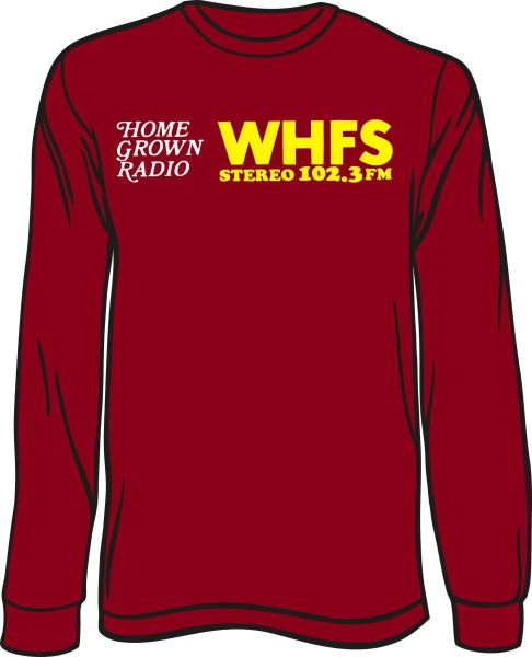 WHFS 102.3 Long-Sleeve T-Shirt