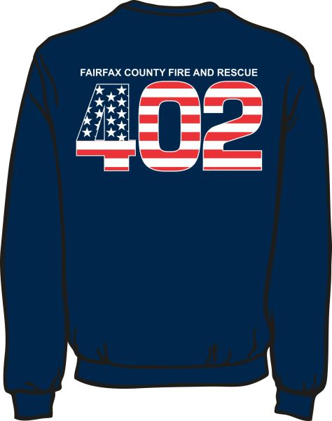 FS402 Flag Heavyweight Sweatshirt