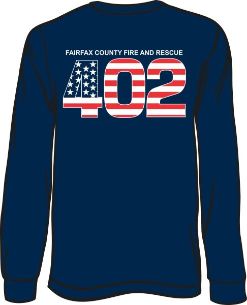 FS402 Flag Long-Sleeve T-shirt