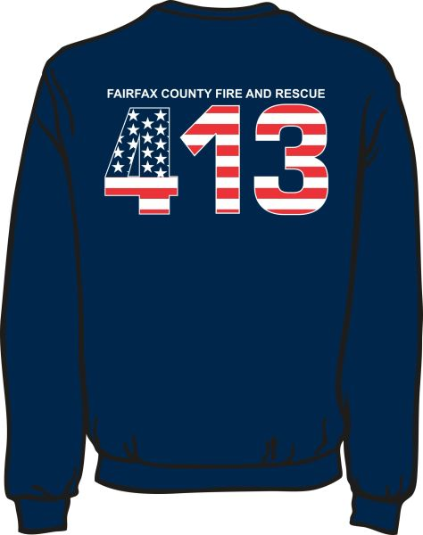 FS413 Flag Heavyweight Sweatshirt