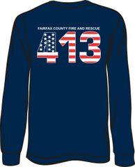 FS413 Flag Long-Sleeve T-shirt
