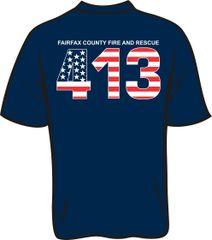 FS413 Flag T-shirt