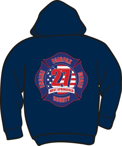 FS427 Lightweight Zipper Hoodie