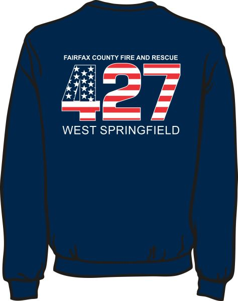 FS427 Flag Heavyweight Sweatshirt
