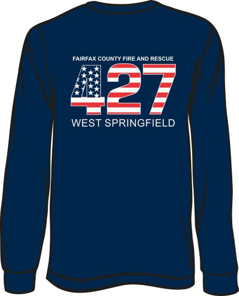 FS427 Flag Long-Sleeve T-shirt