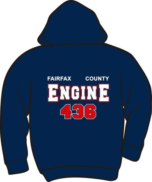 FS436 Engine Heavyweight Hoodie