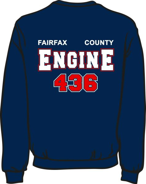 FS436 Engine Heavyweight Sweatshirt