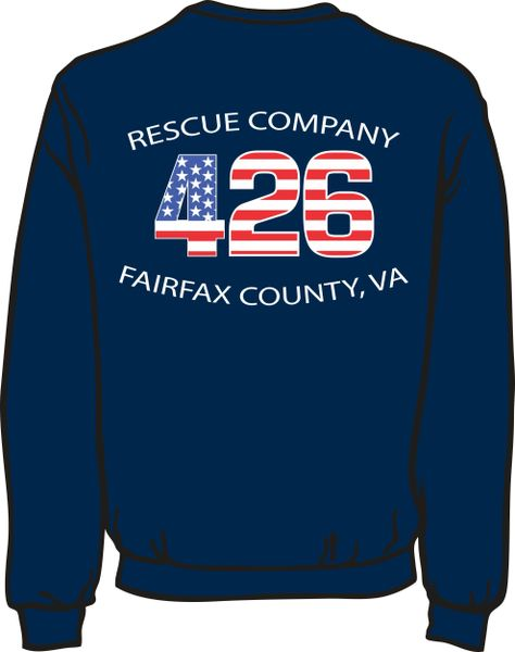 FS426 Rescue Heavyweight Sweatshirt