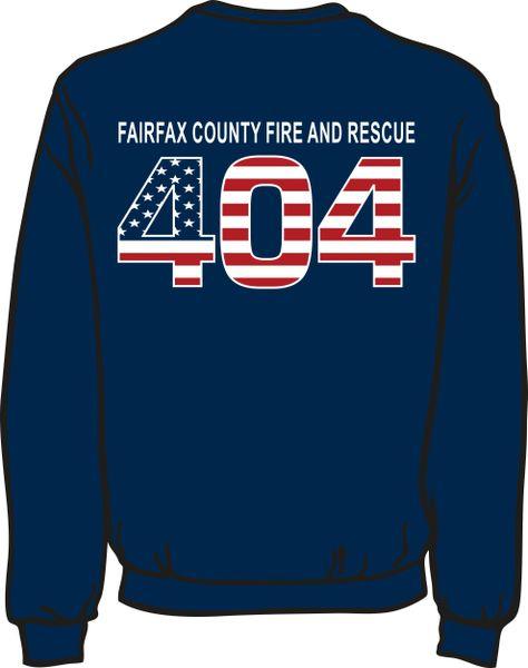 FS404 Flag Heavyweight Sweatshirt