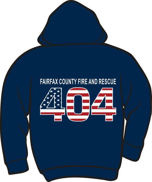 FS404 Flag Heavyweight Zipper Hoodie