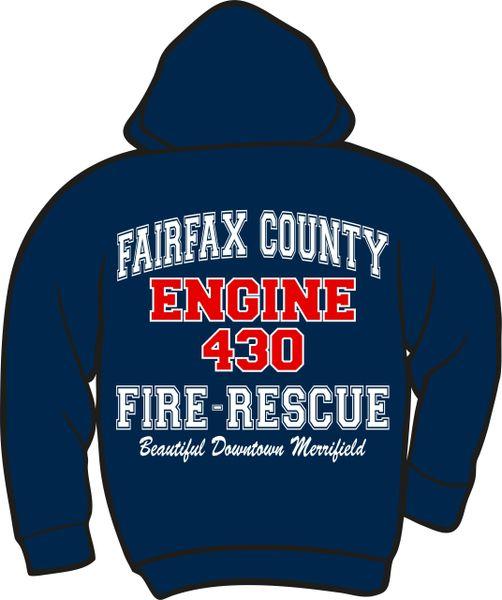 FS430 Engine Heavyweight Hoodie