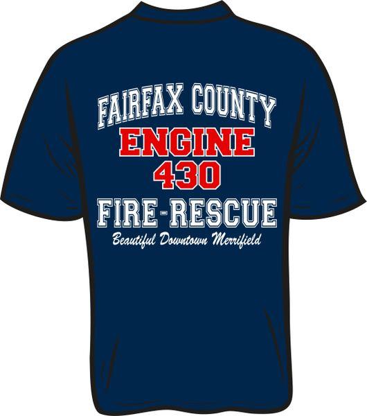 FS430 Engine T-shirt