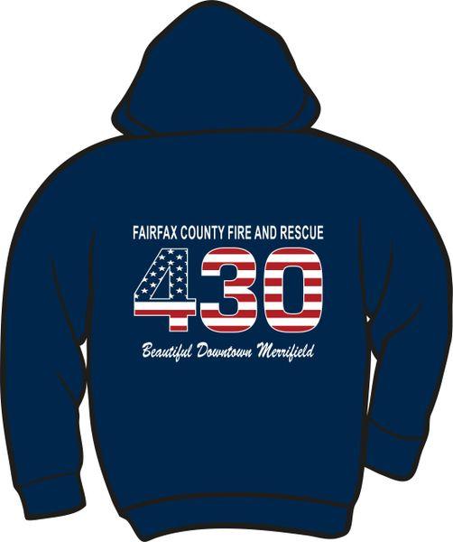 FS430 Flag Lightweight Zipper Hoodie
