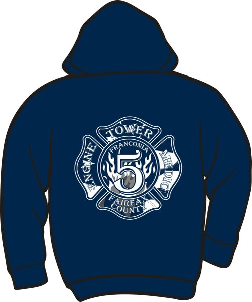 FS405 Patch Heavyweight Hoodie