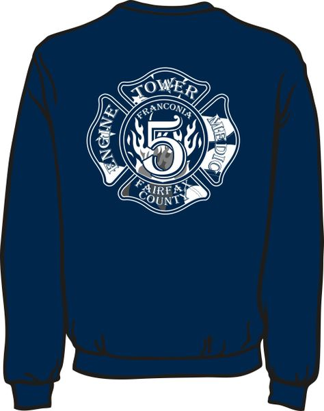 FS405 Patch Lightweight Sweatshirt