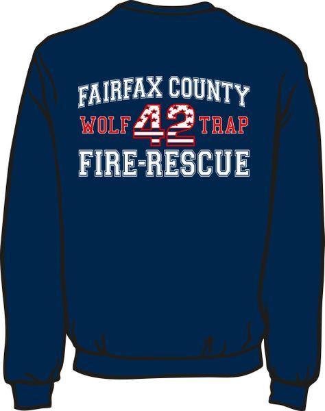 FS442 Flag Lightweight Sweatshirt