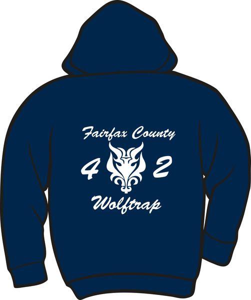FS442 Wolftrap Heavyweight Zipper Hoodie