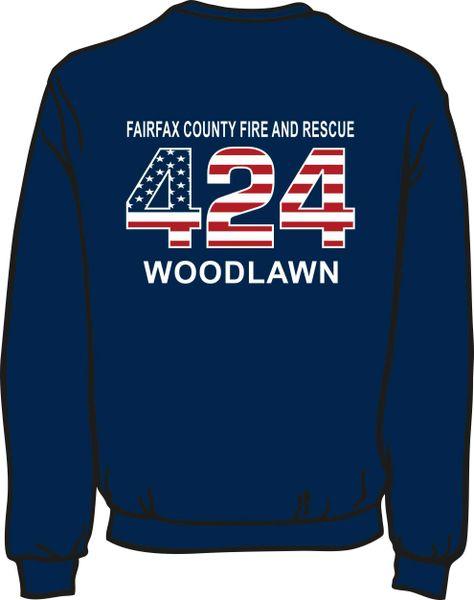 FS424 Flag Heavyweight Sweatshirt