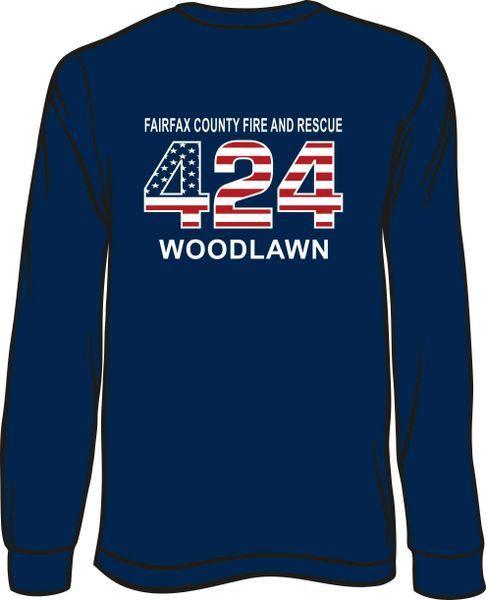 FS424 Flag Long-Sleeve T-shirt