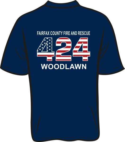 FS424 Flag T-shirt