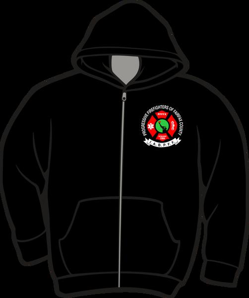 Progressive Firefighters Lightweight Zipper Hoodie
