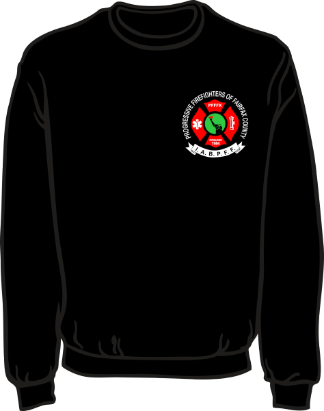 Progressive Firefighters Lightweight Sweatshirt
