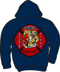 FS428 Heavyweight Zipper Hoodie