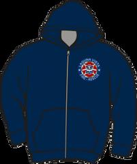 Laguna Vista Fire-Rescue Lightweight Zipper Hoodie
