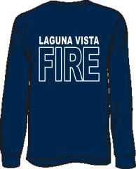 Laguna Vista Fire-Rescue Long-Sleeve T-Shirt