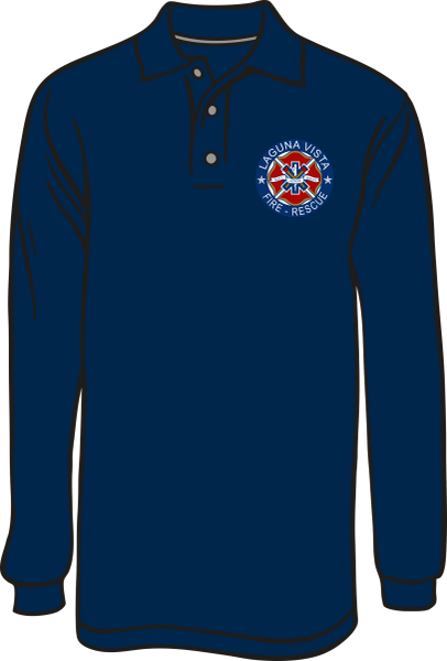 Laguna Vista Long-Sleeve Polo