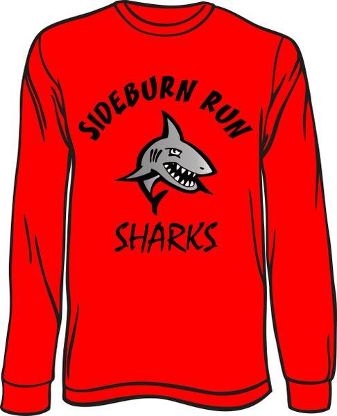 Sharks Long-Sleeve T-Shirt